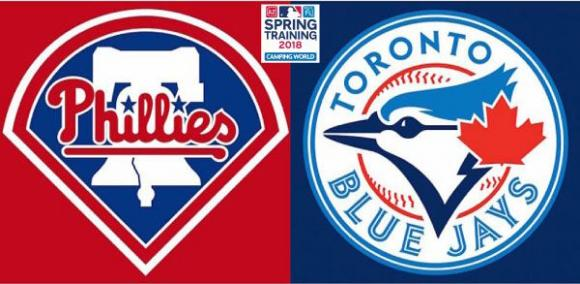 Toronto Blue Jays vs. Philadelphia Phillies at Rogers Centre